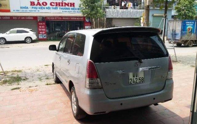 Cần bán Toyota Innova MT đời 2011, màu bạc, biển HN3