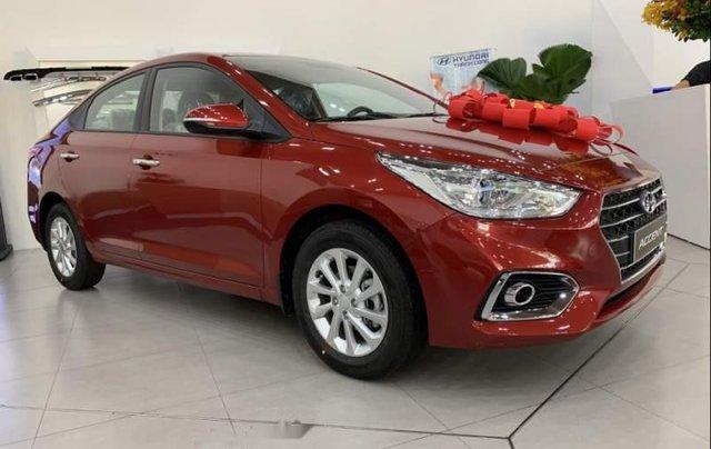 Bán Hyundai Accent đời 2019, màu đỏ1