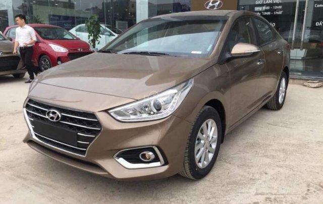 Bán Hyundai Accent năm 2019, màu nâu1