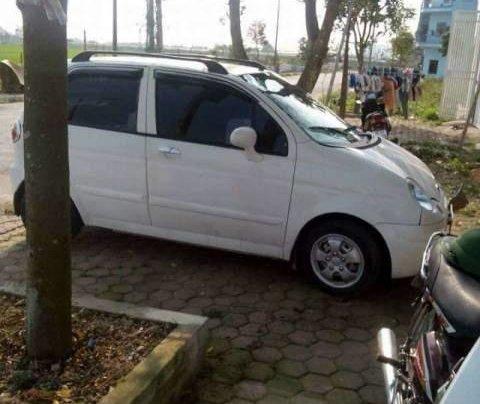 Bán ô tô Daewoo Matiz sản xuất 2007, màu trắng, xe còn đẹp, không bị tai nạn, ngập nước0