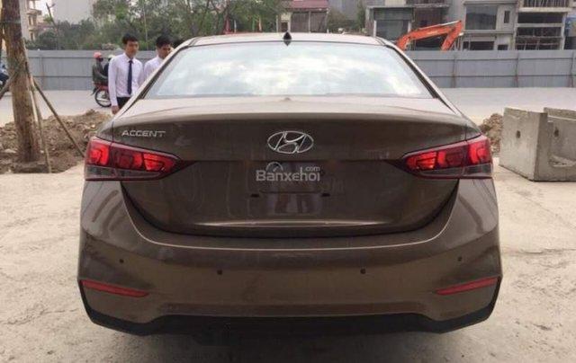 Bán Hyundai Accent năm 2019, màu nâu3