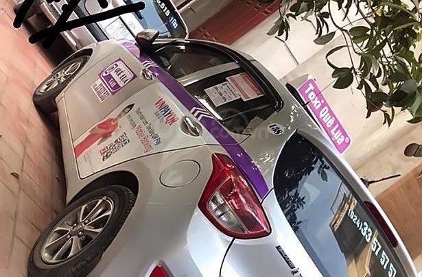 Xe Hyundai Grand i10 sản xuất năm 2015, màu bạc, nhập khẩu  1