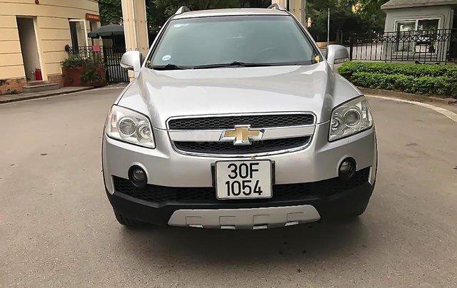 Bán Chevrolet Captiva LT năm sản xuất 2008, màu bạc, 269tr0