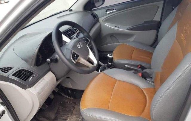 Bán Hyundai Accent đời 2013, màu bạc, nhập khẩu  5