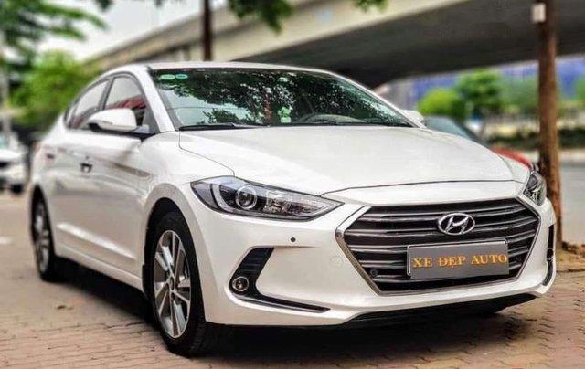 Bán Hyundai Elantra đời 2019, màu trắng, nhập khẩu  0