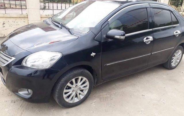 Bán ô tô Toyota Vios sản xuất năm 2009, màu đen còn mới, giá tốt2