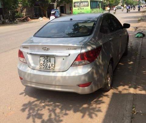 Bán Hyundai Accent đời 2013, màu bạc, nhập khẩu  3