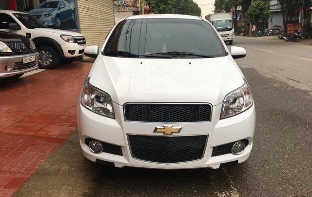 Bán Chevrolet Aveo sản xuất 2018, màu trắng, giá 365tr0