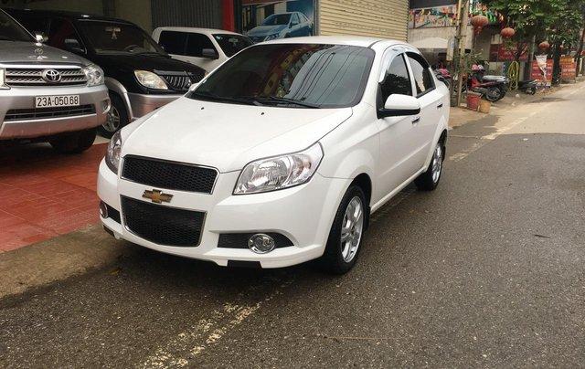 Bán Chevrolet Aveo sản xuất 2018, màu trắng, giá 365tr2