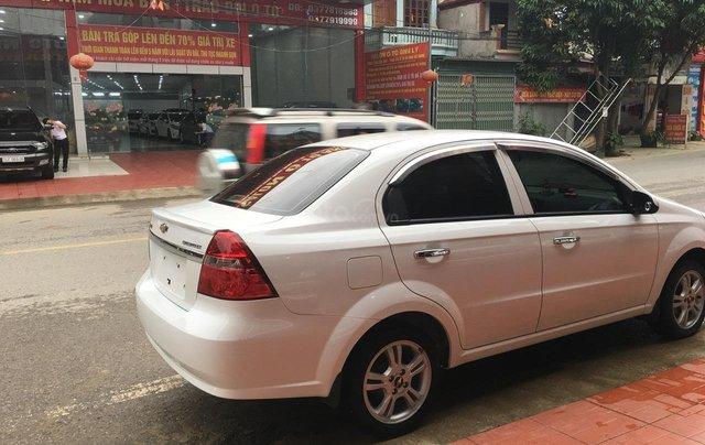 Bán Chevrolet Aveo sản xuất 2018, màu trắng, giá 365tr5