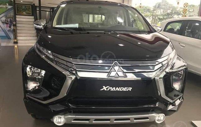 Bán xe Mitsubishi Xpander AT đời 2019, màu đen, xe nhập giá chuẩn0