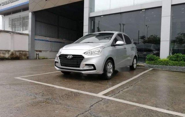 Cần bán Hyundai Grand i10 năm 2019, màu bạc, giá tốt2