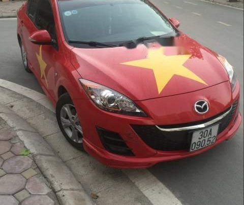 Bán Mazda 3 đời 2010, màu đỏ, nhập khẩu chính chủ, giá chỉ 430 triệu3