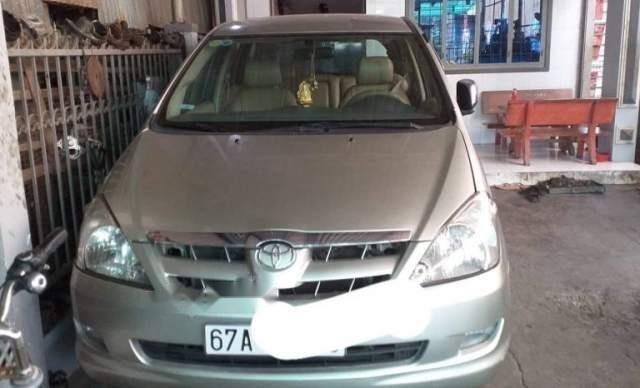 Bán xe Toyota Innova đời 2008, màu bạc, nhập khẩu nguyên chiếc3