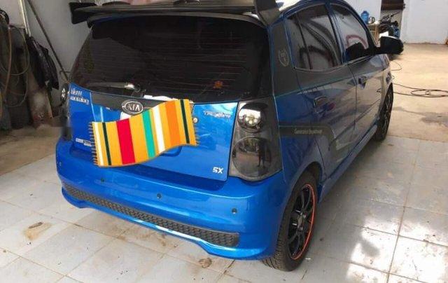 Bán ô tô Kia Morning Sport đời 2011, màu xanh lam xe gia đình1