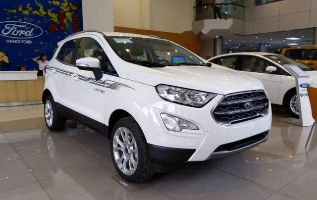 Cần bán xe Ford EcoSport sản xuất 2019, màu trắng1