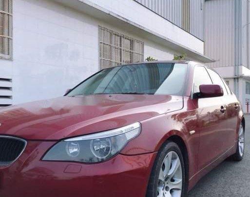 Bán BMW 5 Series 530i sản xuất năm 2005, màu đỏ, giá 420tr4