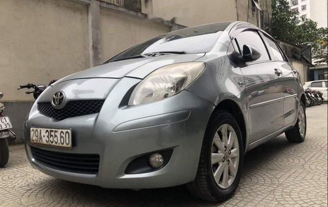 Bán xe Toyota Yaris 1.5 AT đời 2011, màu xám, nhập khẩu nguyên chiếc2