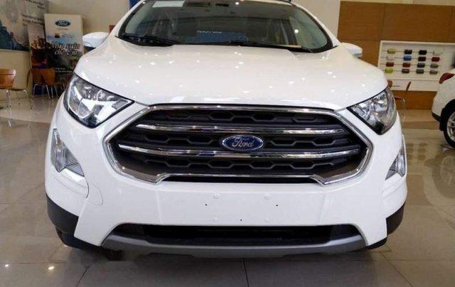 Cần bán xe Ford EcoSport sản xuất 2019, màu trắng0