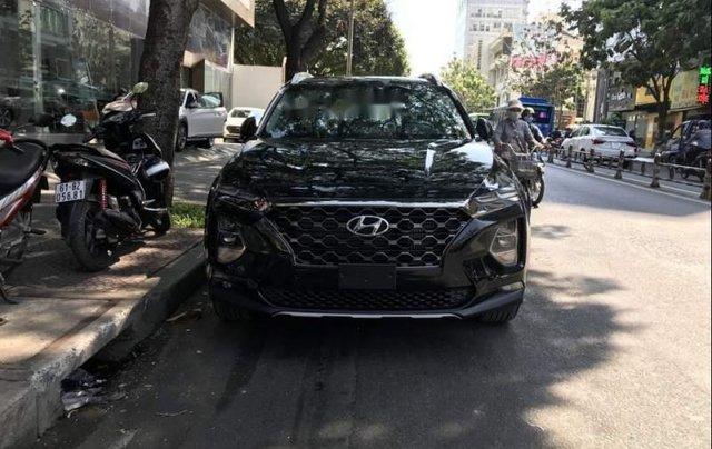 Bán Hyundai Santa Fe 2019, màu đen3