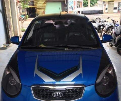 Bán ô tô Kia Morning Sport đời 2011, màu xanh lam xe gia đình0