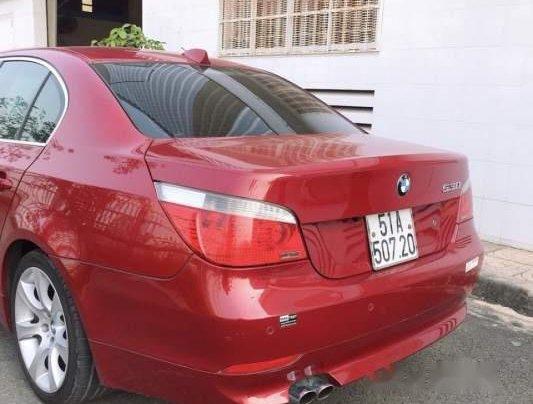 Bán BMW 5 Series 530i sản xuất năm 2005, màu đỏ, giá 420tr2