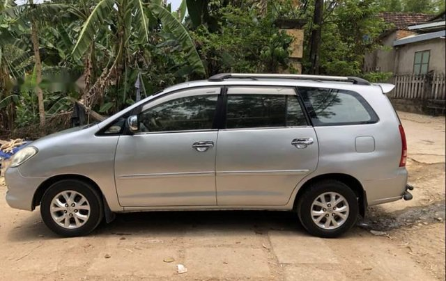 Bán xe Toyota Innova G đời 2006, màu bạc, nhập khẩu nguyên chiếc xe gia đình, giá tốt0
