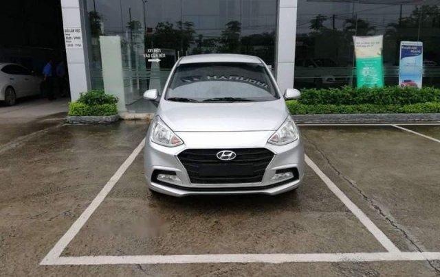 Cần bán Hyundai Grand i10 năm 2019, màu bạc, giá tốt1