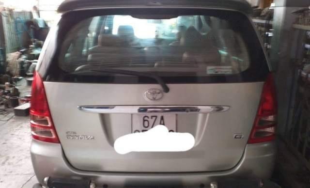 Bán xe Toyota Innova đời 2008, màu bạc, nhập khẩu nguyên chiếc5