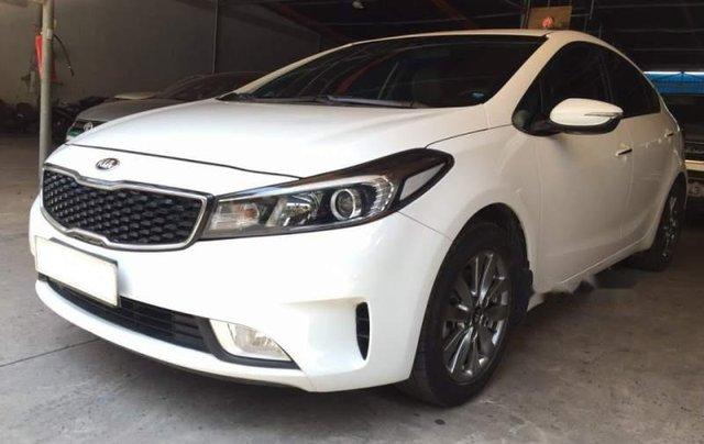 Bán ô tô Kia Cerato đời 2016, màu trắng1