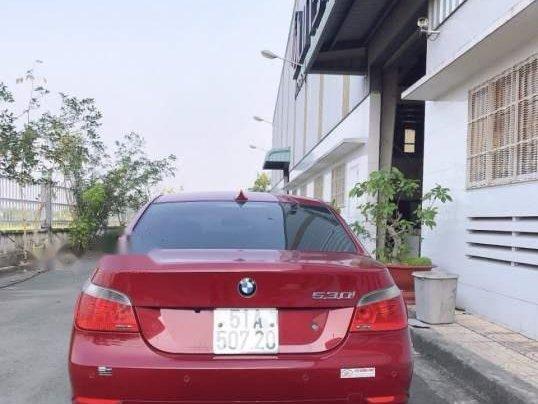 Bán BMW 5 Series 530i sản xuất năm 2005, màu đỏ, giá 420tr1