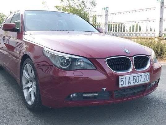 Bán BMW 5 Series 530i sản xuất năm 2005, màu đỏ, giá 420tr0