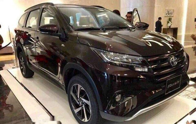 Bán ô tô Toyota Rush sản xuất 2019, màu đen, nhập khẩu0