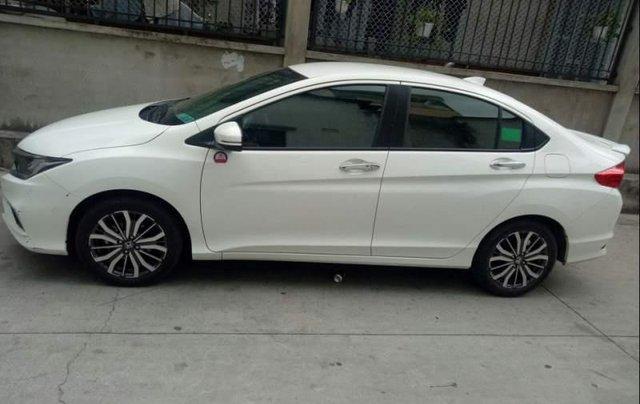 Bán xe Honda City năm sản xuất 2018, màu trắng còn mới3