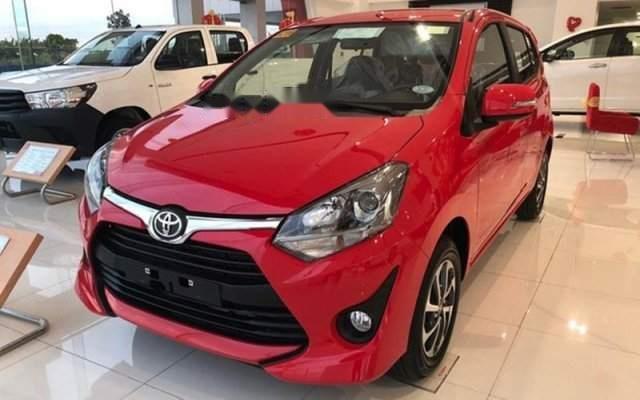 Bán ô tô Toyota Wigo năm 2019, màu đỏ, nhập khẩu nguyên chiếc0