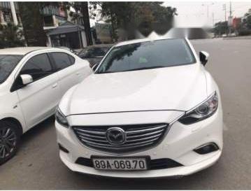 Bán xe Mazda 6 đời 2016, màu trắng, nhập khẩu  2