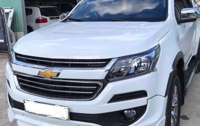 Bán Chevrolet Colorado 2019, màu trắng, nhập khẩu, giá 631tr0