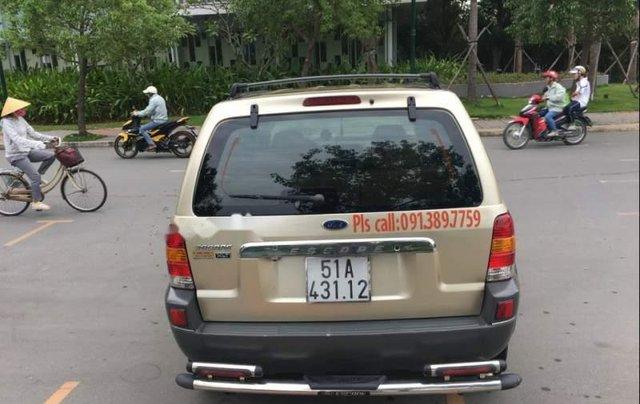 Bán Ford Escape 2004, màu vàng, số tự động 3