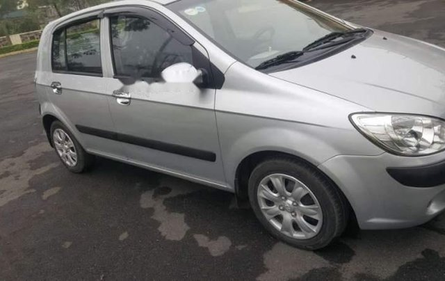 Bán Hyundai Getz đời 2009, màu bạc, nhập khẩu   0