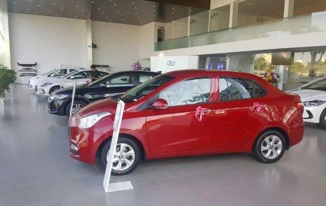 Bán xe Hyundai Grand i10 đời 2019, màu đỏ0