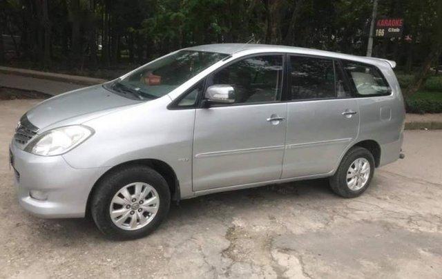 Bán Toyota Innova AT 2012, màu bạc, chính chủ