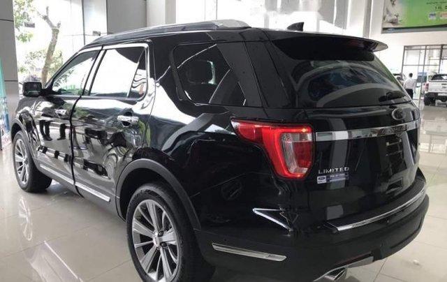 Bán xe Ford Explorer đời 2019, màu đen, nhập khẩu  4