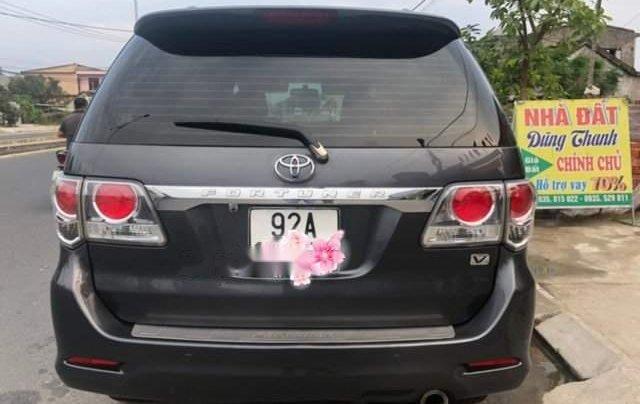 Bán Toyota Fortuner sản xuất 2013, màu xám chính chủ2