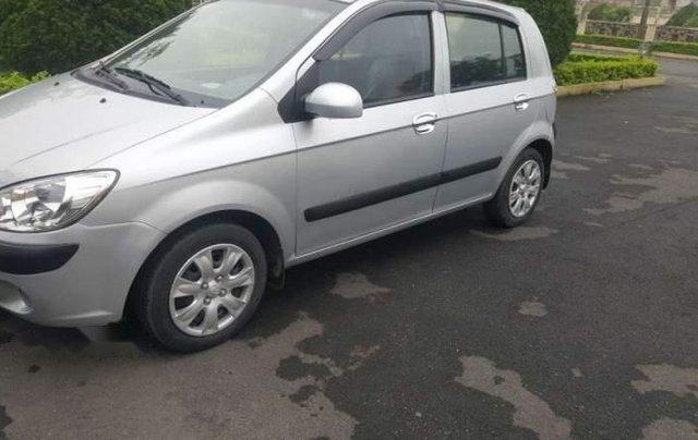 Bán Hyundai Getz đời 2009, màu bạc, nhập khẩu   4