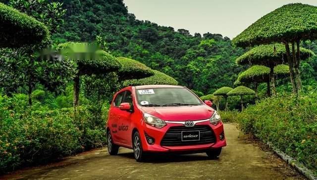 Bán ô tô Toyota Wigo năm 2019, màu đỏ, nhập khẩu nguyên chiếc1
