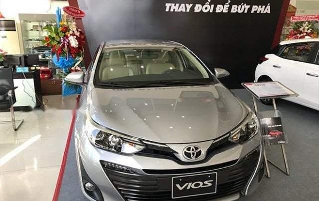 Bán xe Toyota Vios năm sản xuất 2019, màu bạc1