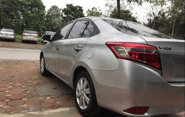 Bán Toyota Vios E sản xuất 2017, màu bạc, giá cạnh tranh1