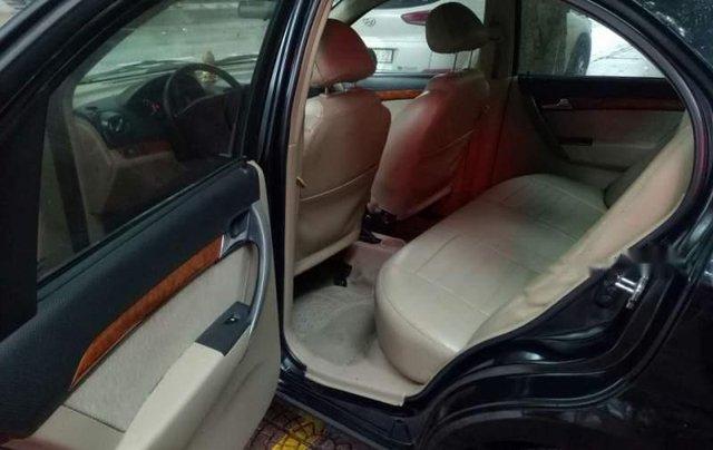 Cần bán Daewoo Gentra sản xuất 2009, màu đen, giá 161tr5