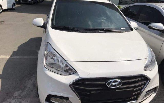 Bán xe Hyundai Grand i10 năm 2019, màu trắng, 390 triệu0