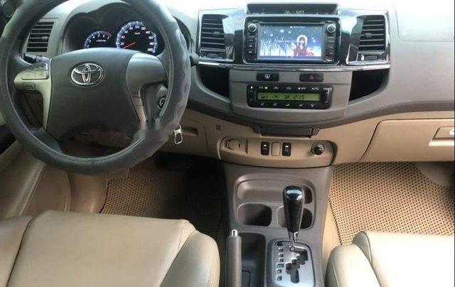 Bán Toyota Fortuner sản xuất 2013, màu xám chính chủ4